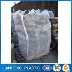 Farm used big mesh bag for firewood packing, durable quality pp firewood mesh bag with manufacturer direct price.