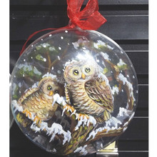 4d hands paiting, Christmas tree decoration, Ornament Merry Xmas Tree House Decoration