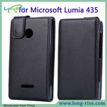 Cheap Price Flip Top Leather Case Cover for Microsoft Nokia Lumia 435