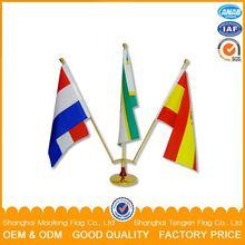 Promotion national and custom design office desk flag