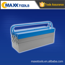 Two layer handy iron tool box,empty tool kit box,toolbox