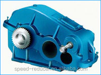 ZQDseries zibo wanxin Cylinder three stage parallel 110v high torque low rpm electric motor
