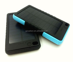 2015 New private mode mobile accessories solar portable cell phone charger