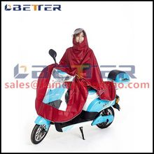 High quality custom printed rain poncho / lake bule motorcycle poncho