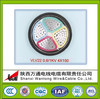 VLV 22 4x150 0.6V/1KV Constant section Alluminum Core PVC Insulation PVC Sheath Armoured steel strip Electrical Power Cable