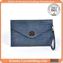 Wholesale Aligator women clutch bag