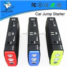 New Generation MiniFish Damaged Cars For Sale Jump Starter With LED Flashlight