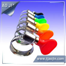 German type handle hose clamp,hose clamp,A variety of color plastic handle hose clamp