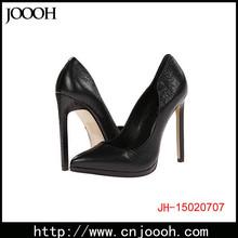 Platform Black Color Women Heel