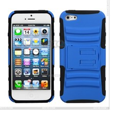 New Arrival Silicon&Plastic Hard PC Silicone Case For iPhone 5/5S, Heavy Duty Hybrid Phone Amor Case for iPhone 5/5S