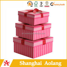 2014 most popular paper cake box packing