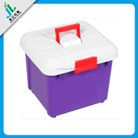 wholesale china manufacturer custom hard plastic carrying case with compartments and wheels