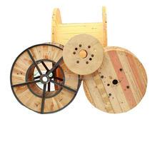 Aço de alta qualidade e carretel de madeira