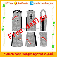 100% polyester basketball jersey/clothing with your logo