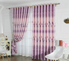 finished curtain simple and modern bedroom print curtain