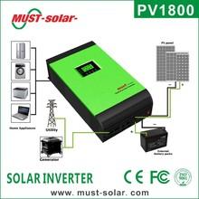 <Must solar >PV1800 series Hybrid solar power inverter 8000w 48v 220v off grid solar inverter charger ( parallel 2 pcs)