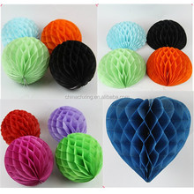 Tissue Paper Pom poms Wedding Party for decoration with factory price