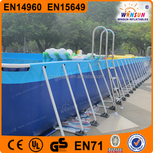 Large size inflatable pool,commercial inflatable adult swimming pool