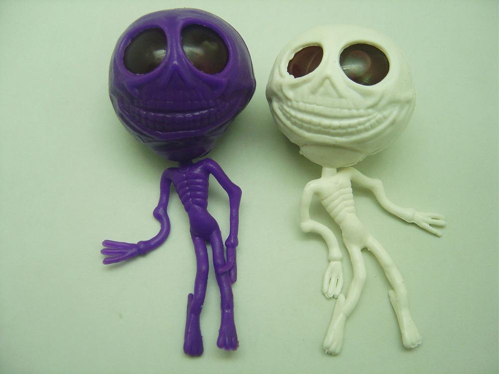Plastic Stretch Human Skeleton Skull Alien Egg Toy - Buy Alien Egg Toy,Stretchy Skeleton Toy ...