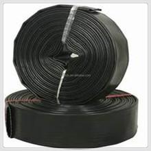black pvc lay flat hose factory direct sale