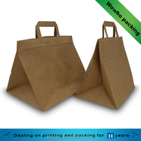 wholesale triangle shape kraft paper bag