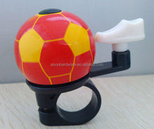 Football +shoe shape Bells with black and white for bicycle\bicycle bell\bicycle accessories