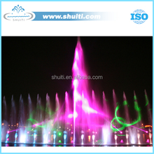 High Jet Laser Fountain LED Light Color Musical Fountains