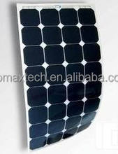 sunpower 200w semi flexible solar panel
