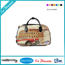 Hot new products backpack travel bag with picture and trolley