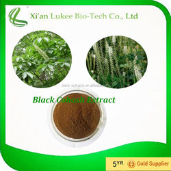 Natural Herb Extract Black Cohosh Extract 5%,8% Triterpene Glycosides