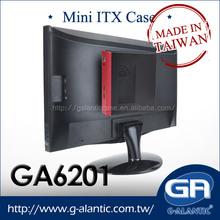 GA6201 Mini itx pc case for HTPC branded computer desktop