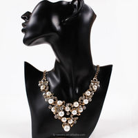 Hot sale fashion beaded pearl necklace pictures