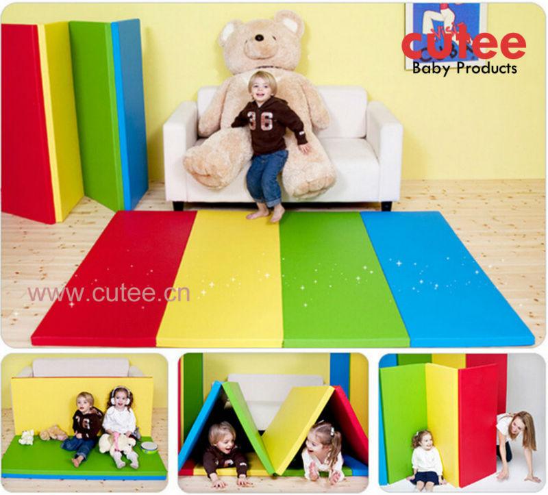 Puzzle enfants pliable tapis de jeu, Bébé tapis de jeu ...