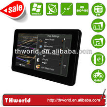 Wholesale Checkout 5 inch India map sat nav device model no. K50 with MSB 2531 CPU 800MHz 4GB Memory