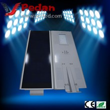 Super bright Integrated 50W Solar Street lamp /lighting system Integrated withsolar panel,all in one solar street lights