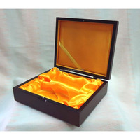 Customized wooden jewelry & pen packaging and branding box