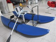 Made in China Individual Inflatable Fishing Pontoon Boat