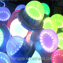 electronic round led light base for centerpiece