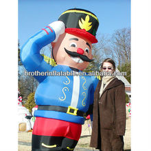 Airblown Inflatable Christmas Officer Model