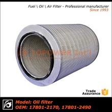 Suction compressor air filter