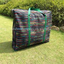 handle pp woven shopping laminated fancy shopping bag