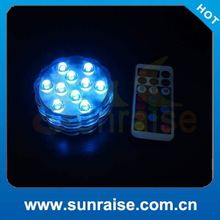 2015 multifunction led swimming pool lights with resin filled