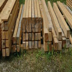 Cheap wood fencing post / solid wood timber