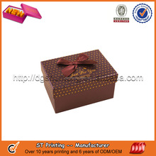 High quality paper packaging box for jewelry