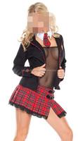 sexy cosplay fairy pure school girl naughty school uniform costume
