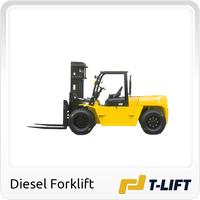 Internal combustion 10 ton forklift