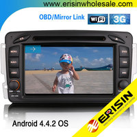 """Erisin ES9507A 7 """" Android 4.4.2 Car Audio DVD Player for S203 2004 2005"""