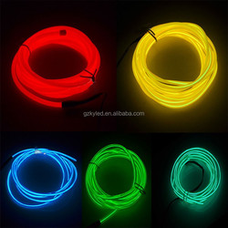 2014 Ultra Brightness Double Cores Lighting El Wire Manufacturer