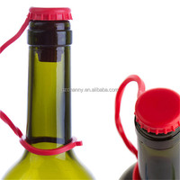 Silicone Soda Wine Bottle Stopper Beer Soft Plug Kitchen Patry Tools Random Color New