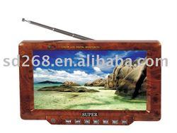 "7"" Cheap car auto12V TFT LCD monitor with TV and AV function"
